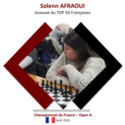Solenn rate la qualification de peu à Nîmes